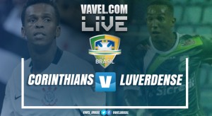 Resultado Corinthians x Luverdense na Copa do Brasil 2017 (1-1)