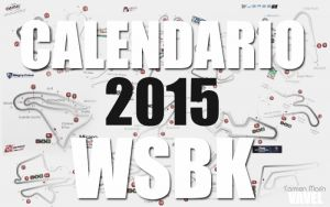 El calendario del WSBK 2015