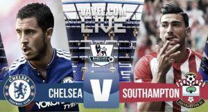 Resultado Chelsea vs Southampton en la Premier League 2015 (1-3)