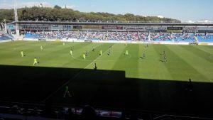 Empate del Huesca en un partido de más a menos