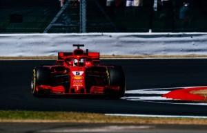 F1, Gp di Gran Bretagna - Vettel scalza le Mercedes nelle seconde prove libere