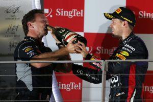 GP Singapore - Continua il dominio di Vettel, Alonso non molla e chiude secondo