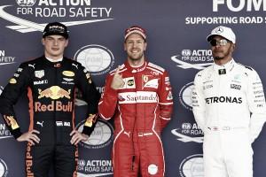 """Vettel: """"He tenido una vuelta perfecta, incluso con lo resbaladiza que es la pista"""""""