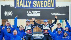 Ogier vence en el Rally de Suecia