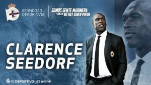 Clarence Seedorf, el elegido