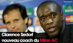 Clarence Seedorf nouveau coach du Milan AC