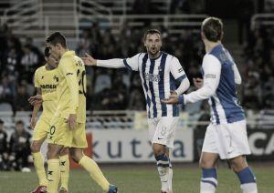Real Sociedad - Villarreal: puntuaciones Real Sociedad, 1/8 de final de la Copa del Rey