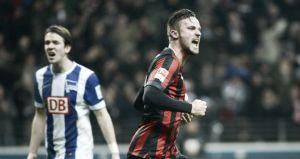 Hertha y Eintracht empatan a nada