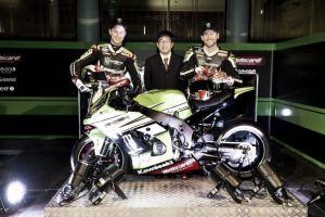 Superbike, presentato a Barcellona il Kawasaki Racing Team 2015