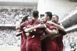 """Cristiano Ronaldo: """"Estoy disfrutando con Portugal, las cosas irán bien"""""""