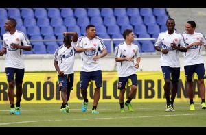 Los 27 convocados de la Selección Colombia entrenaron en el Metropolitano