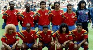 Colombia: participación en Mundial Italia 1990