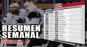 Resumen semanal de la NHL: semana 7