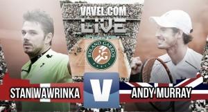French Open 2016: Andy Murray produces a semi final masterclass as he downs Stan Wawrinka