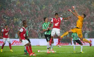 Santa Fe - Atlético Nacional: el verde busca recortar distancias en casa del puntero