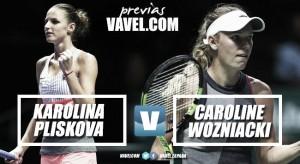 Previa Karolina Pliskova - Caroline Wozniacki: a un paso de la final