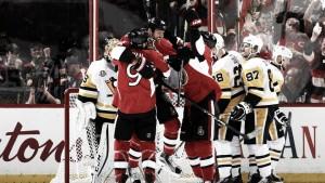 Los Senators aplastan a los Penguins en el tercer asalto