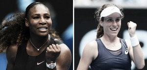 Serena Williams x Johanna Konta ao vivo online pelas quartas de final do Australian Open