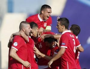Europeo Under 21 - Pirotecnico ed inutile 2-2 tra Serbia e Macedonia: Djurdjevic riacciuffa i leoni rossi