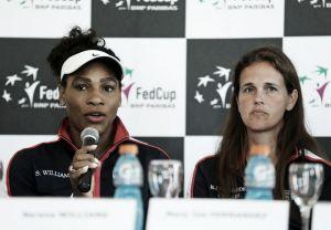 """Serena Williams: """"Estoy muy feliz de estar aquí"""""""