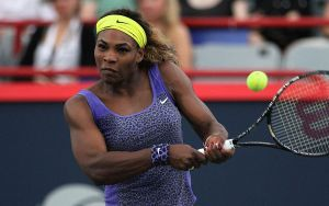 Montreal, Serena Williams rullo compressore