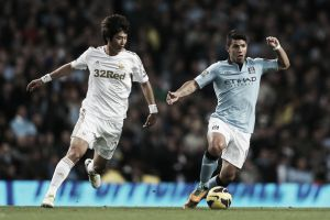 Manchester City vs Swansea City: Pellegrini insists Citizens can still catch Chelsea