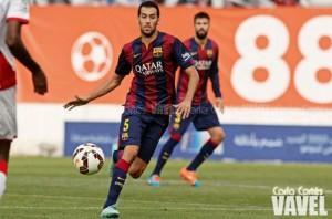"""Sergio Busquets: """"No ha sido nuestro mejor partido, pero tocaba ganar sí o sí"""""""