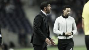 """Sergio Conceição: """"No estamos satisfechos, queríamos ganar"""""""