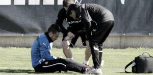Sergio García se retira del entrenamiento tras recibir un golpe