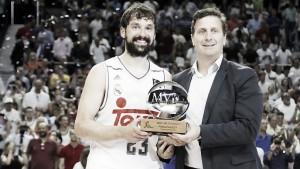 Sergio Llull, MVP de la Final de la Liga Endesa