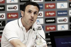 """Sergio: """"No puedo reprochar nada a los jugadores porque lo han dejado todo en el campo"""""""