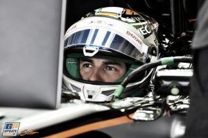 """Sergio Pérez: """"Será muy importante trabajar con los frenos y el motor"""""""