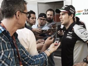 """Sergio Pérez: """"Las carreras en Interlagos tienden a ser especiales"""""""