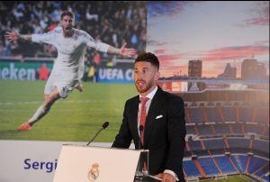 """Sergio Ramos: """"Formar parte de este club y llevar el brazalete es un privilegio"""""""