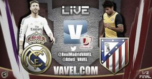 Diretta Real Madrid - Atlético Madrid, live della partita di Coppa del Re