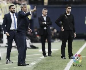 """Quique Setién: """"Nos han vuelto a hacer lo mismo que en Sevilla"""""""