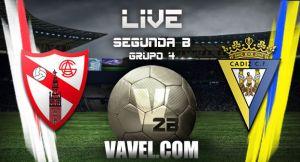 Sevilla Atlético - Cádiz en directo online