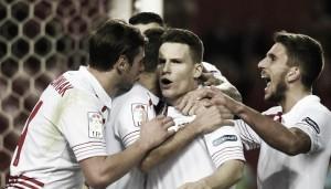 Sevilla  FC – Ath. Bilbao: puntuaciones del Sevilla, jornada 19 de la Liga BBVA