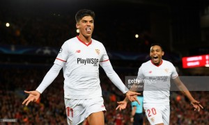 Liverpool 2-2 Sevilla: Correa equaliser snatches point from dominant Reds
