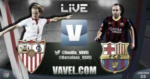 Diretta Siviglia - Barcellona, live della partita di Liga