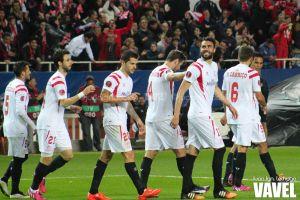 Fotos e imágenes del Sevilla 1-0 Borussia Mönchengladbach, ida de dieciseisavos de Europa League