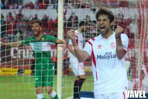 Fotos e imágenes del Sevilla 3-0 Elche, jornada 27 de Primera División