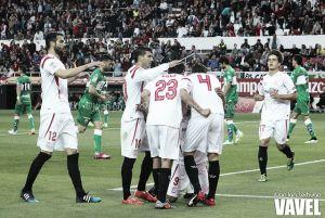 Sevilla - Elche: puntuaciones del Sevilla, jornada 27 de Liga BBVA