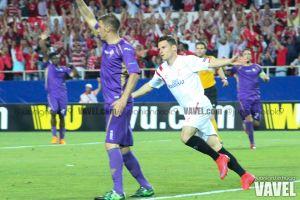 Fotos e imágenes del Sevilla 3-0 Fiorentina, ida de semifinales de la Europa League