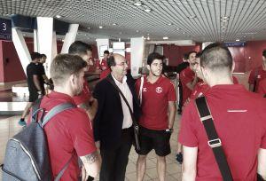 El Sevilla está ya en Lyon con Krychowiak como novedad