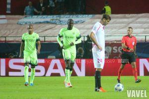 Fotos e imágenes del Sevilla 1-3 Manchester City, jornada 4 de Champions