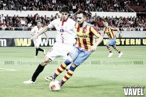 Sevilla FC - Valencia CF, primer duelo liguero