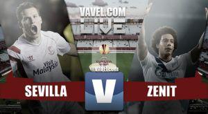 Resultado Sevilla vs Zenit en la Europa League 2015 (2-1)