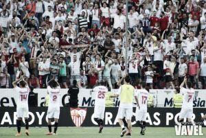 Málaga- Sevilla: puntuaciones del Sevilla, jornada 38