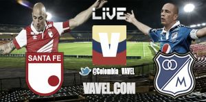 Santa Fe vs. Millonarios, Liga Postobón en vivo online